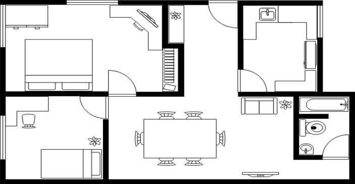 Suite 104 1